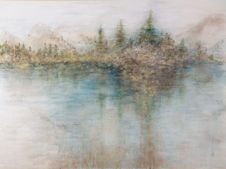 "200 x 150, ""Goldene Reflektionen"""