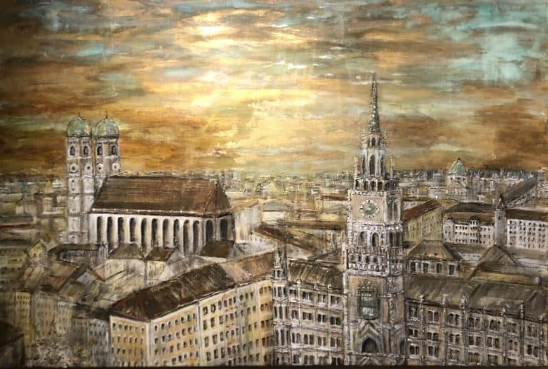 "150 x 100, ""Goldenes München"""