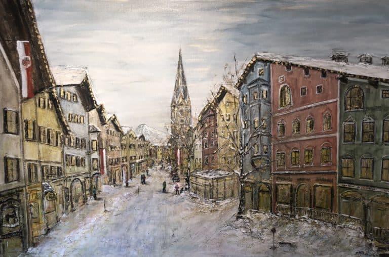 "150 x 100, ""Goldenes Kitzbühel"""