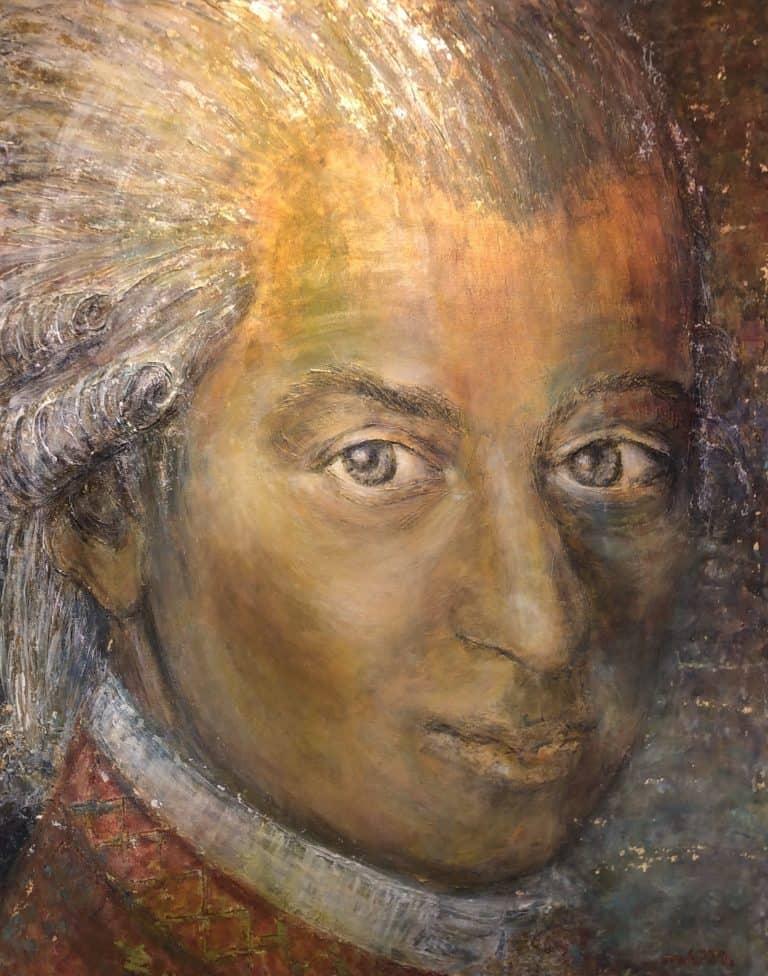 """150 x 120, """"Goldener Mozart"""""""